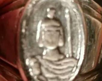 Sterling silver Roman praetorian ring