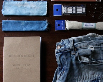 Visible Mending Kit for Denim