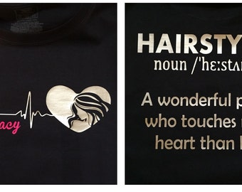 Hairstylist shirt