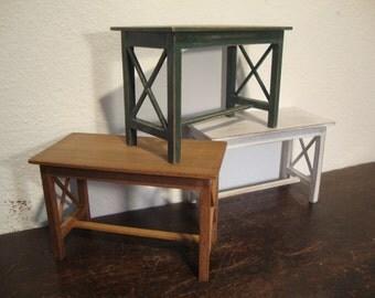 miniature dollhouse table