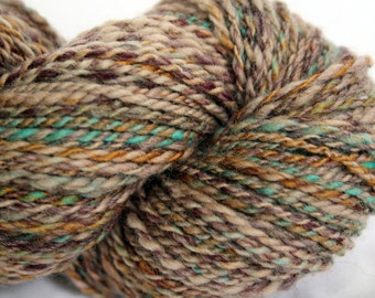 Handspun Yarn Worsted Weight - Treasures