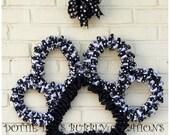 Pet Paw Wire Wreath Form