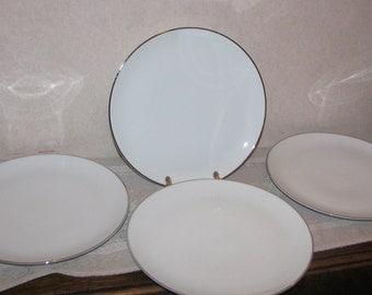Johann Haviland Bavaria Wedding Ring Dinner Plates - Lot of 4