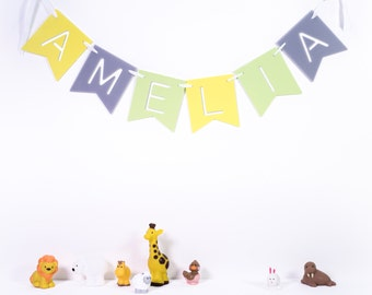 Personalised Children's Name Banner Bunting