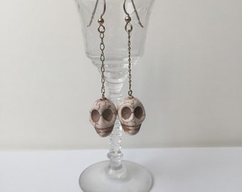 Calavera Drop Earrings