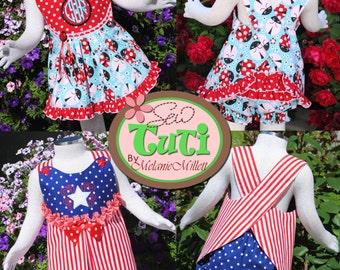 Wrap Around Dress - PDF Sewing Pattern - Downloadable Sewing Pattern