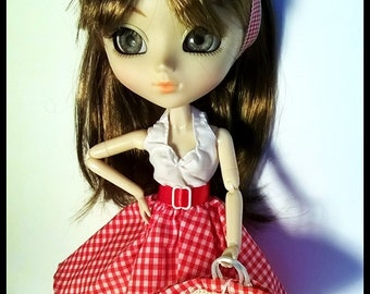 Pullip Doll Outfit - Pret-a-porter - Picnic Outfit