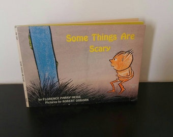 Vintage Halloween Book - Some Things Are Scary - 1969
