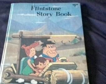 Vintage Hanna Barbera Flintstone Story Book 1974