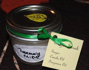 Rosemary Mint Sugar Scrub