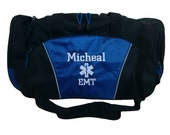 Duffel Bag Personalized Star of Life Paramedic EMT EMS Medic Trauma Nurse Medical Gym Trauma Unit Emergency First Aid Coast Guard Ambulance