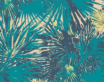 AGF Coastline VOILE yardage - Tropical Breeze