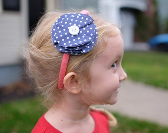Patterened Fabric Headbands-Infant-Adult Sizes