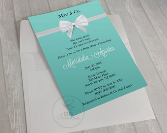 Tiffany & Co. Theme Invitation