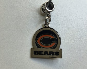 Chicago Bears circle charm