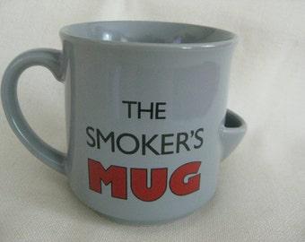Vintage Smoker's Mug
