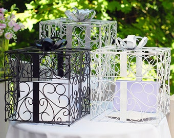 Wedding Reception Gift Card Holder Present Gift Box