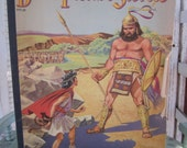 Bible Picture Stories Book 50s Large Format