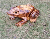Chainsaw Carving Chainsaw Carved Frog