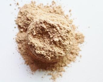 Matte Mineral Foundation - Light  Beige -  Noncomedogenic - Vegan Friendly  Makeup - Concealer