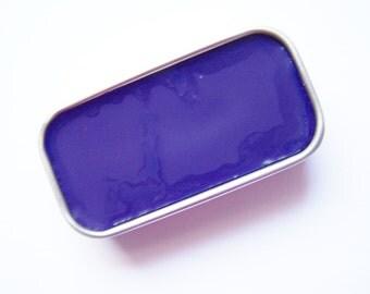 Lilac Mineral Lip Color - Zero Waste Lipstick In A Tin - Vegan Mineral Makeup -  Cruelty Free Cosmetics