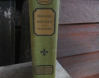 Early 1900's - Madame Bovary - French Classic Romance - Flaubert