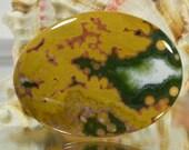 Ocean Jasper 39.6x29.7x5mm Natural Gemstone Cabochon Jewelry Supplies Ocean Jasper