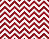 Premier Prints Indoor/Outdoor Rojo Red Chevron - 1 yard  available
