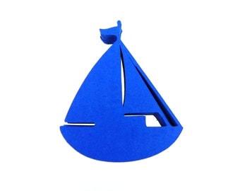 Sailboat Paper Cut Outs set of 25