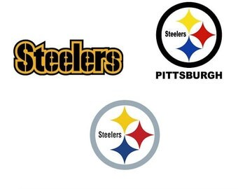 Pittsburgh Steelers Decal/RTIC YETI Car Decal, Computer Decal, Window Decal, Cell Phone Decal