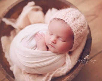 Knitting Pattern - Dream Cables - Newborn Photography Prop