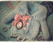 Reserved, Second Payment BLYTHE Jacket LOLLIPOP Romantic Collection By Odd Princess Atelier, Shabby Chic, Hand Knitted, Special Outfit