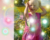 Fairy Lens Flares - Instant Download - lens flare overlays - Fairy Lights, Magical Flares, Fantasy Beams