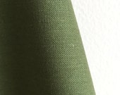 Organic Solid Fabric in Olive from the Cirrus Solids Collection from Cloud9 Fabrics. - ONE FAT QUARTER Cut