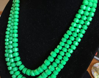 Pretty Easy Being Green necklace