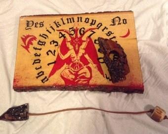 Ouija Board - Pendulum Board /  Handmade