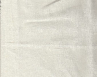Ivory Lightweight Linen Fabric-16 Yards Wholesale By the Bolt