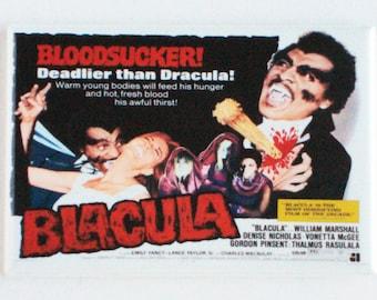 Blacula Movie Poster Fridge Magnet