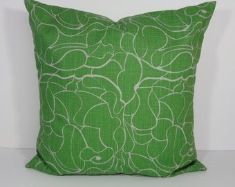Emerald Green Decorative Pillow Cover, Cushion Cover, 16 x 16, 18 x 18