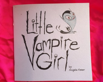 Little Vampire Girl mini comic
