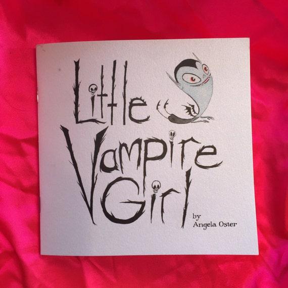 Little Vampire Girl mini comic
