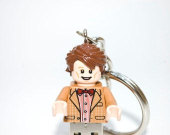 128GB The 11th Doctor / Doctor Who USB Flash Drive with Key Chain