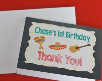 """12 - Customized 4x6"""" Thank You Notes Cards WITH Envelopes - Can do these to match ANY theme in my Shop - Free Ship Over 65.00"""