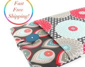 Microsoft Surface Case, Surface RT Case, Surface Pro Case, Surface 2 Case, Surface 2 Pro Case, Pro 3 Case - Grey Floral