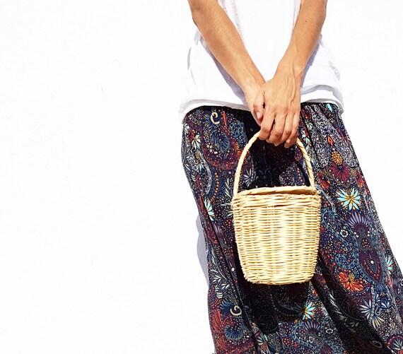 Panier Osier Jane Birkin : Birkin jane basket fait ? la main en osier panier