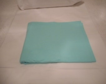 "New Aqua Cotton Flannel 36""  x 44 inches"""