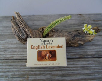1990 Vintage Yardley of London English Lavender Fragranced Soap Bar