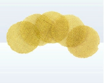 Brass Pipe Screens Pack of 5 for your FloggleWerks Pipe