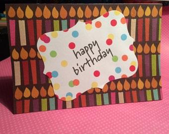Birthday Greeting Card: Happy Birthday