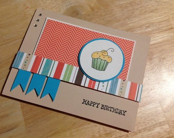 Card - Birthday - Hey Cupcake
